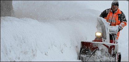 Snow in Davos