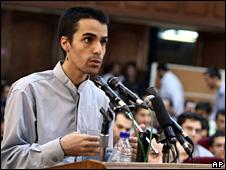 Arash Rahmanipour in court (8 August 2009)