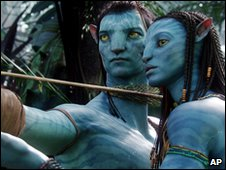 A scene from the film Avatar