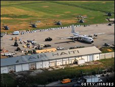 Haiti's main airport