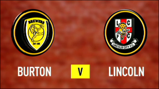 Burton Albion 1-0 Lincoln City