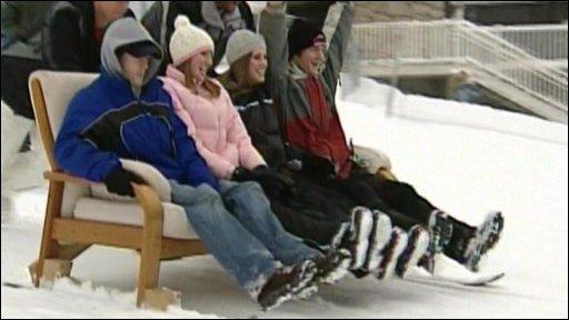 Ski-couching