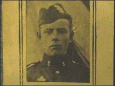 Private John Smith who died at Fromelles