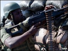 African Union peacekeeper