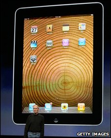Apple iPad unveiling, Getty