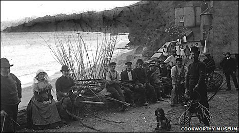 Hallsands archive photo