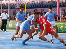 Participants in the South Asia Games