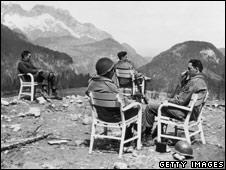 American GIs in Berchtesgaden