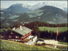 Hitler's retreat at Berchtesgaden