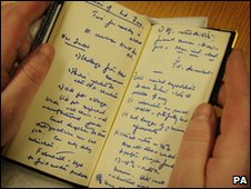 "Margaret Thatcher""s diary from 1979"