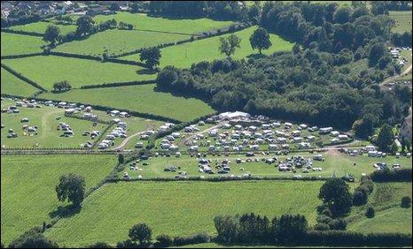 Gilestone Farm campsite
