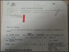 Rex Wade's paperwork