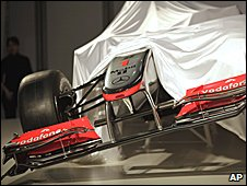 The 2010 McLaren is revealed