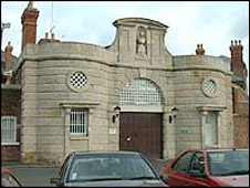 The Dana Prison in Shrewsbury