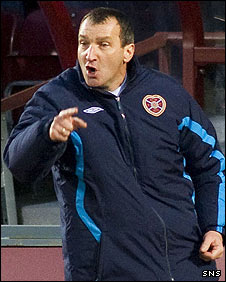 Csaba Laszlo is no longer manager of Hearts