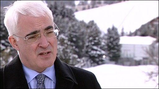 British chancellor Alistair Darling
