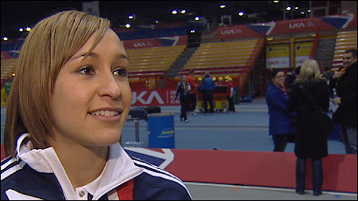Team GB captain Jessica Ennis