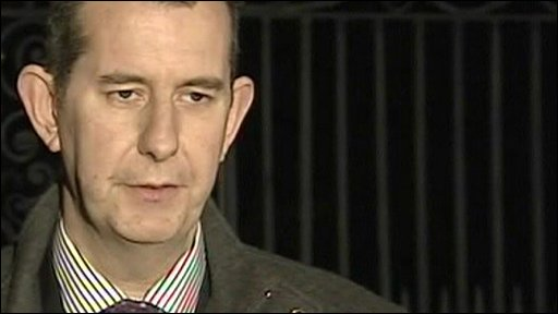 The Democratic Unionist Party's Edwin Poots