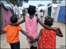 Children in Port-au-Prince, Haiti. Photo: 30 January 2010