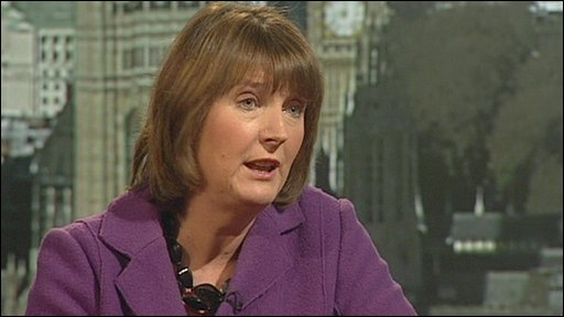 The Leader of the House of Commons and Minister for Women and Equality, Harriet Harman