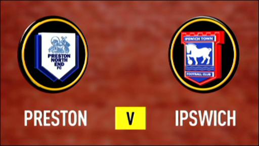 Preston 2-0 Ipswich