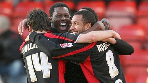 Crewe 1-2 Bournemouth