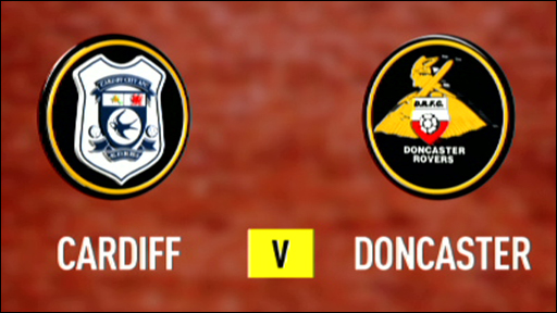 Cardiff 2-1 Doncaster
