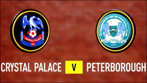 Crystal Palace 2-0 Peterborough