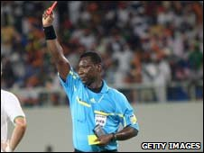 Benin referee Bonaventure Koffi Codjia