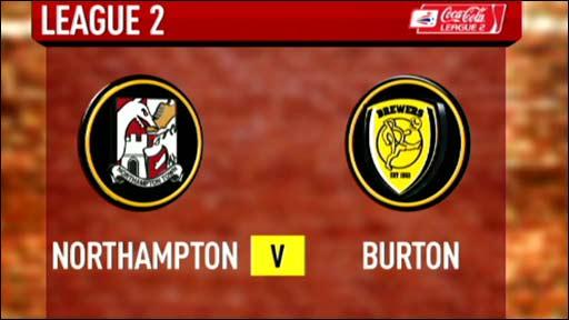 Northampton 1-1 Burton