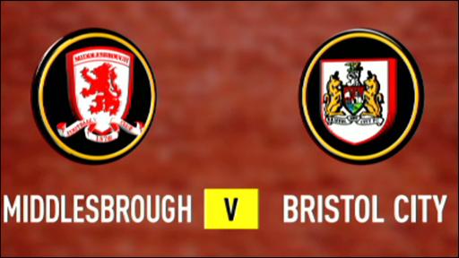 Middlesbrough 0-0 Bristol City