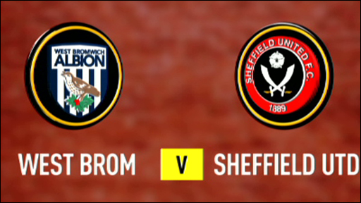 West Bromwich Albion 3-1 Sheffield United