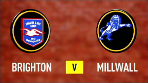 Brighton 0-1 Millwall