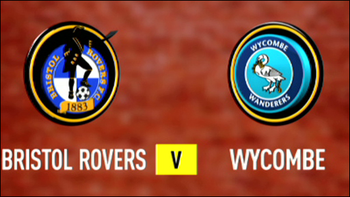 Bristol Rovers 2-3 Wycombe Wanderers