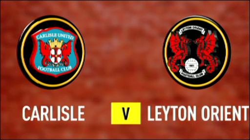Carlisle 2-2 Leyton Orient