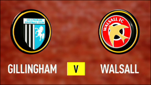Gillingham 0-0 Walsall