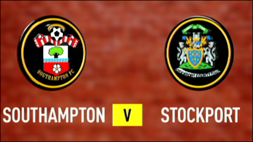 Southampton 2-0 Stockport