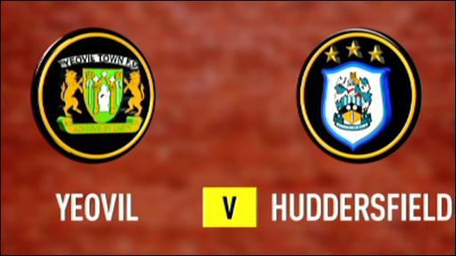 Yeovil 0-1 Huddersfield