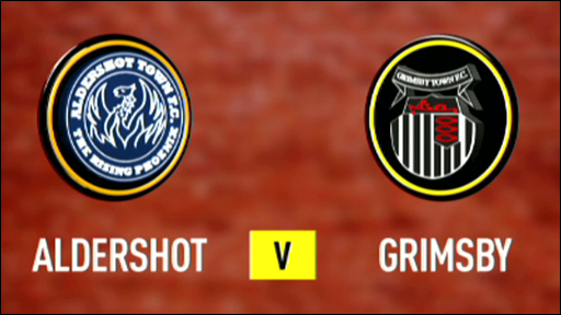 Aldershot 1-1 Grimsby