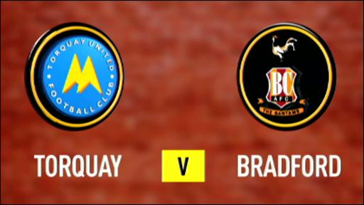Torquay 1-2 Bradford