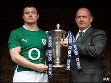 Brian O'Driscoll & Declan Kidney