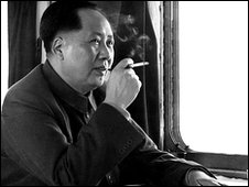 Chairman Mao on holiday in 1961