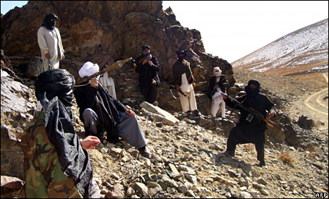 Taliban fighters in Ghazni, Afghanistan