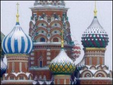 St Basil's Cathedral, Red Square, in the snow