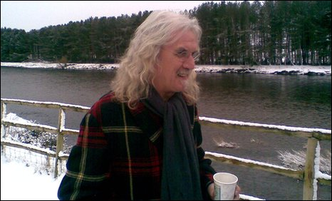 Billy Connolly at the launch