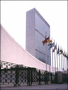 UN headquarters, New York (Image: BBC)