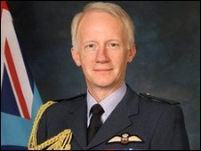 RAF Air Chief Marshal Stephen Dalton
