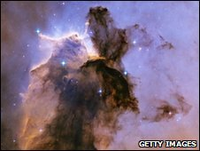 Interstellar dust cloud