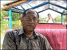 Chandra Wickramasinghe   Image: BBC
