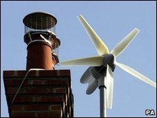 Domestic wind turbine